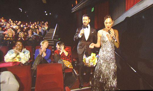 Jimmy Kimmel, Gal Gadot
