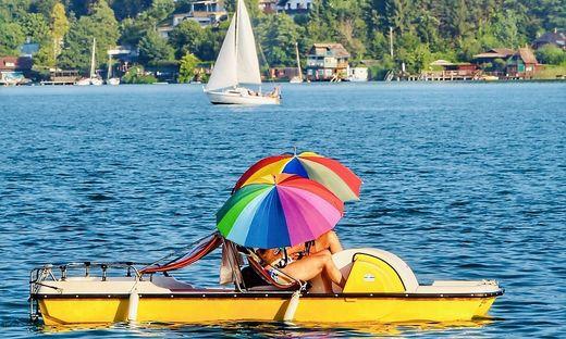 Seen laden nach wie vor zum Baden ein – bei 25 Grad wie aktuell am Wörthersee