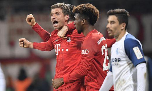 Thomas Müller erzielte das Goldtor