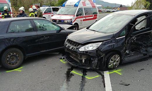 Unfall in Pertlstein