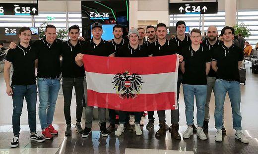 Im 20-Mann-Kader des rot-weiß-roten Floorballteams sind 13 Kärntner Athleten vertreten