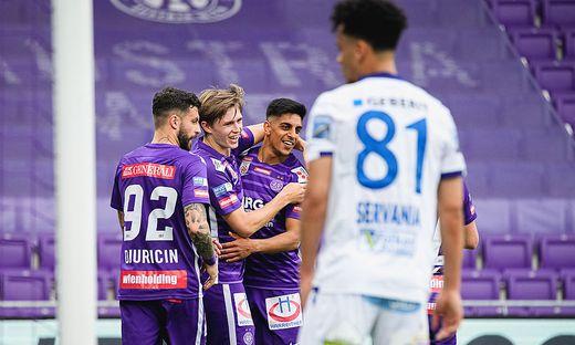 FUSSBALL: TIPICO BUNDESLIGA / QUALIFIKATIONSGRUPPE: FK AUSTRIA WIEN - SKN ST. POeLTEN