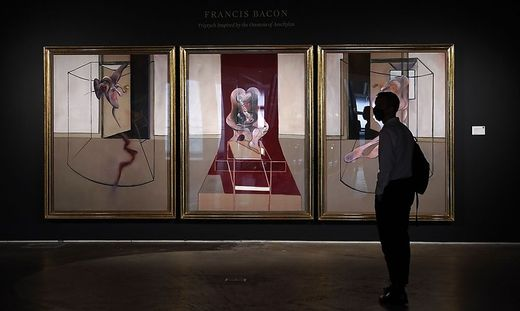 """Triptych inspired by the Oresteia of Aeschylus"" von Francis Bacon"