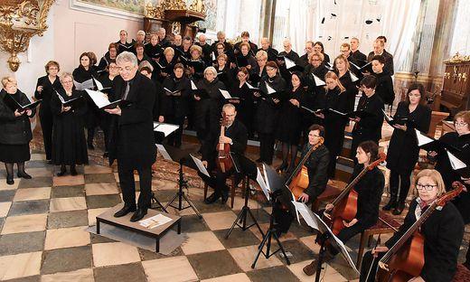 Die Dommusik Klagenfurt singt am Sonntag in der Domkirche
