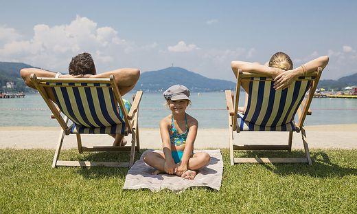 An Kärntens Seen fühlen sich die Urlauber wohl