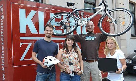 Mit einem eigenen Blog beim 24-Stunden-Radrennen in Kaindorf bei Hartberg mit dabei