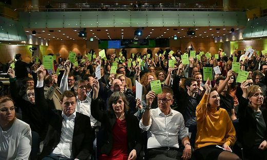 Große Mehrheit der Grünen stimmte für Koalition