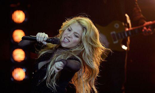 Auch Pop-Star Shakira ließ sich die Rechte an ihren Songs gut abgelten