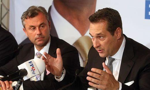 Heinz-Christian Strache, Norbert Hofer