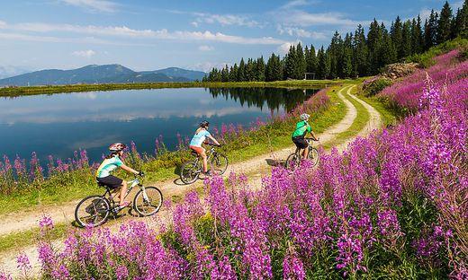 Mountainbiken in Wagrain-Kleinarl