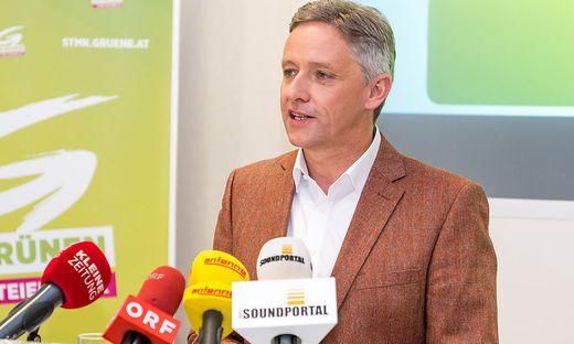 Grüner Landtagsklubobmann Lambert Schönleitner