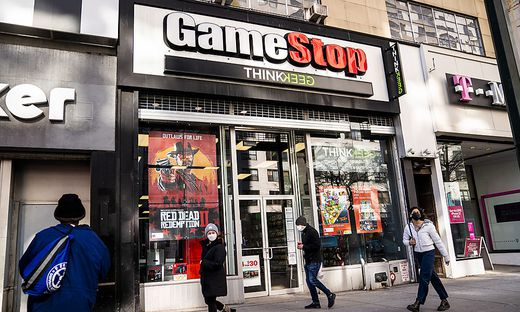 Gamestop-Filiale