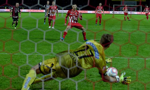 SOCCER - OEFB Cup, Kapfenberg vs Sturm