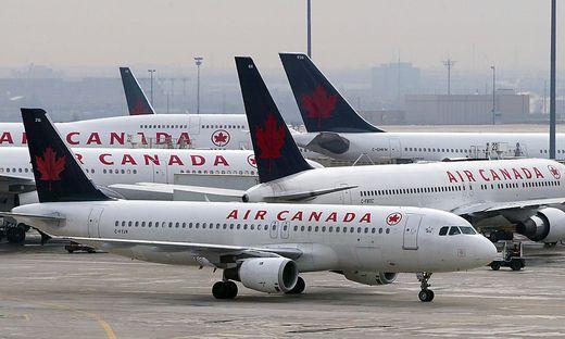 Flugzeuge der Air Canada