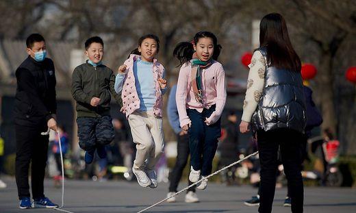 In China wurden 2020 weniger Kinder geboren als im Vorjahr.