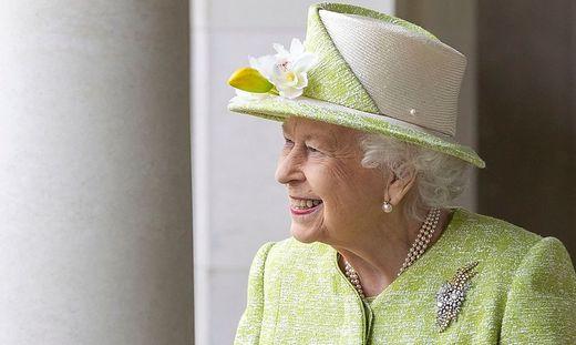 Königin Elizabeth II. ist guter Dinge