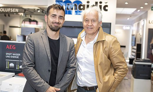 Hannes (rechts) und Philipp Majdic wollen mit Electronic4you kräftig expandieren