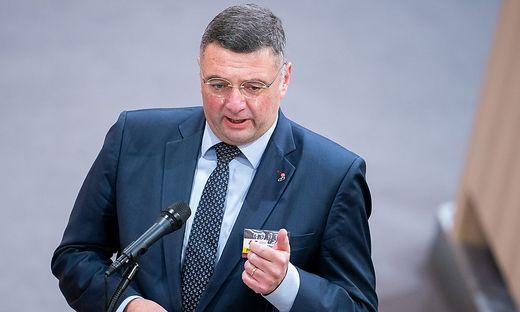 """Jörg Leichtfried (SPÖ): """"Es hat einen Sinn gehabt, auf Verhandlungen zu setzen."""""""
