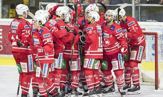ICE HOCKEY - EBEL, KAC vs Capitals