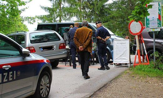 Ausseerland Polizeieinsatz Am Sommersbergsee Zutritt Durch