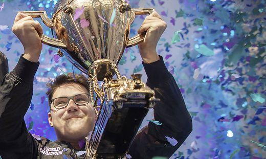 Gewann 1,3 Millionen Euro Preisgeld: Der Kärntner David Wang