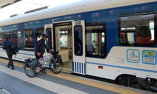 Das Rad-Transport-Service von Trenitalia verzeichnet diesen Sommer ein kräftiges Plus