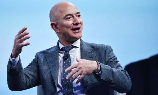 Gründete am 5. Juli 1994 gemeinsam mit MacKenzie Scott Amazon: Jeff Bezos