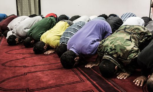 Sujetfoto: Beten im Ramadan