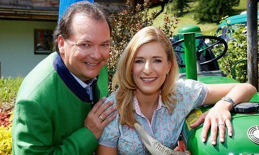 Stefanie Hertel und Arnulf Prasch