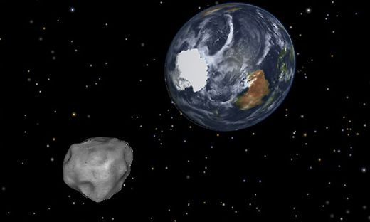 Asteroid Könnte Einschlagen Bennu Rast Auf Die Erde Zu Nasa