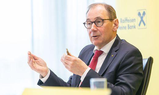 Martin Schaller, Chef der Raiffeisen-Landesbank Steiermark