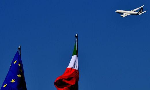 Die Alitalia fliegt in eine ungewisse Zukunft