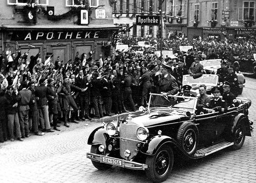 Hochrangige Nationalsozialisten, darunter auch Hitler selbst, kamen Anfang April nach Graz.