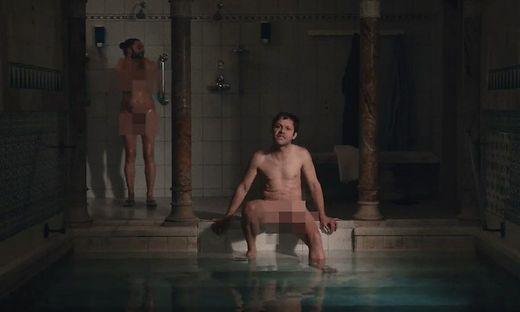 Thomas Petritsch alias Effi in der Sauna