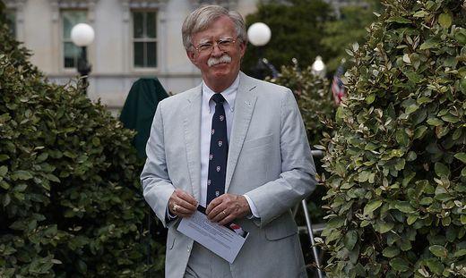 US-Sicherheitsberater John Bolton.