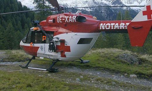 Der Mann wurde mit dem RK 1 in das LKH Villach geflogen (Sujetbild)
