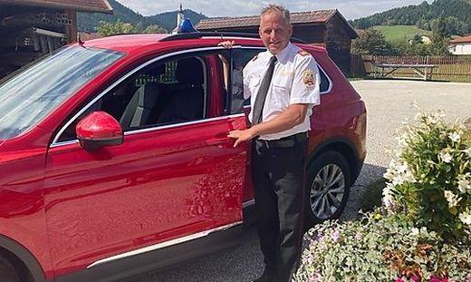 Friedrich Monai ist seit Ende 2017 Bezirksfeuerwehrkommandant