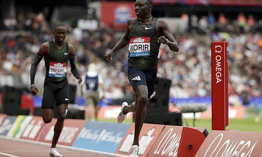 Leichtathletik: Weltklasseleistungen bei Meeting in London ...