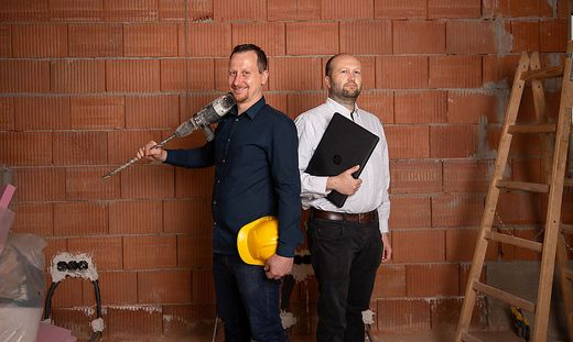 Gründeten Mitte April das Start-up WALTA: Stefan Haas und  Michael Stering