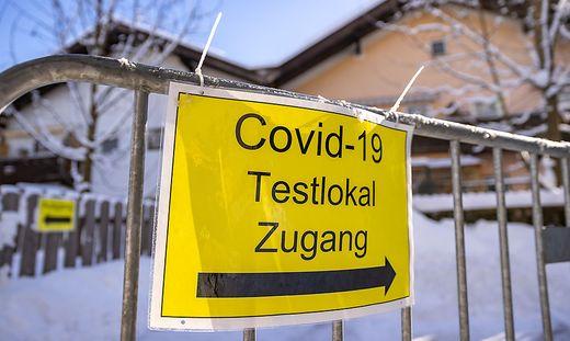 CORONA: TIROL - PCR-TESTS IM BEZIRK KITZBUeHEL: