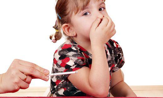 Kalter Rauch schadet Kleinkindern