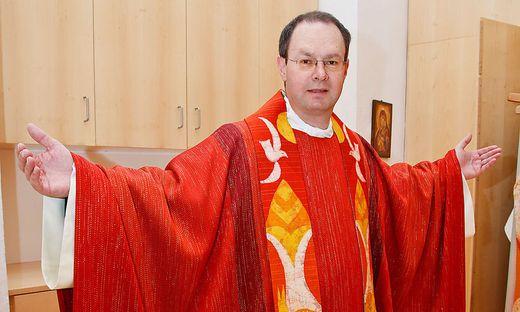 Regens Rauch war jahrelang für die Priesterausbildung verantwortlich