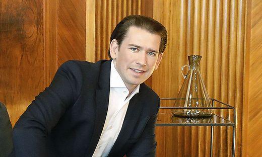 Kanzler Sebastian Kurz