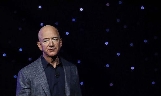 Amazon-Boss Jeff Bezos