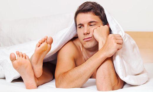 Probleme im Bett können ein Zeichen für andere Erkrankungen sein