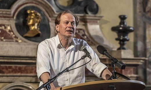 Josef Winkler sorgt mit seiner Rede für Aufregung