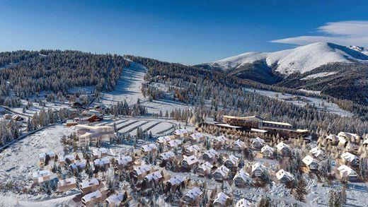 Eine Planansicht des Sternenberg Resorts auf der Hochrindl