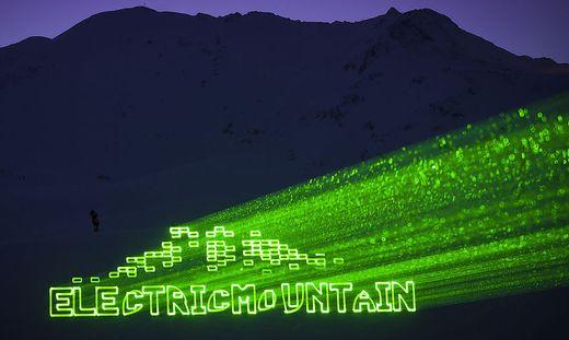 Eine Lasershow wie beim Electric Mountain Festival in Sölden wird am 9. Oktober in Kärnten geboten