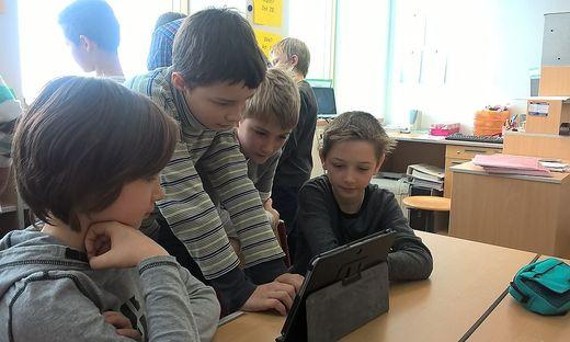 Die Schüler konnten die Kommission erfolgreich von ihren digitalen Fähigkeiten überzeugen