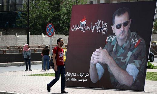 Dank Moskau sitzt Syriens Diktator Baschar al-Assad fest im Sattel
